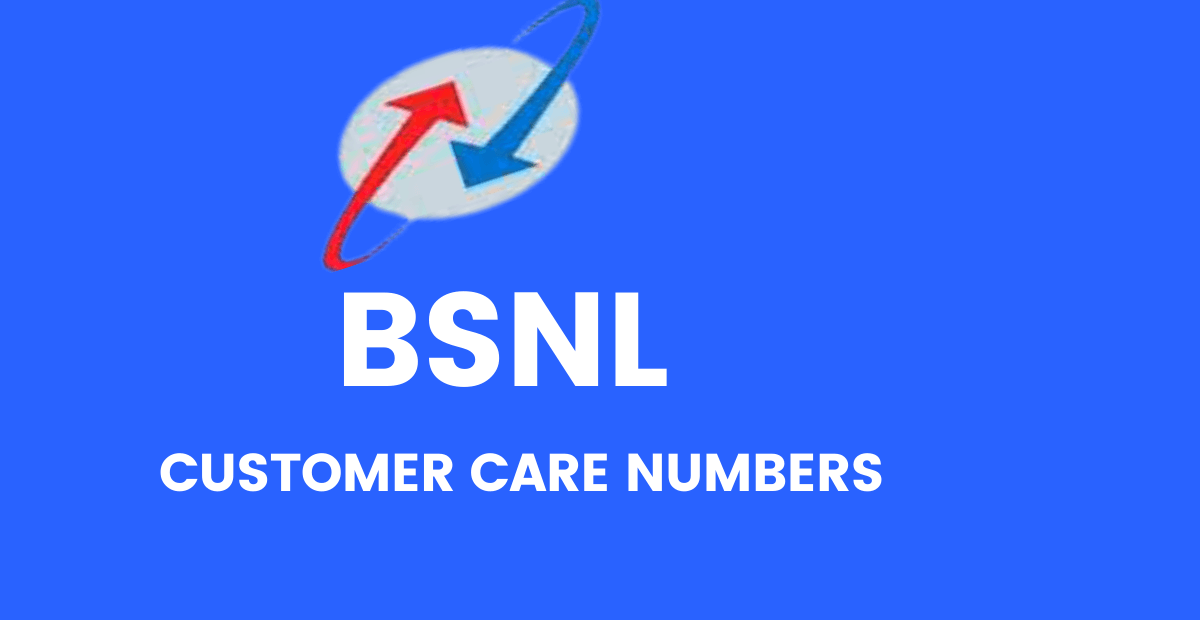 BSNL Customer Care Toll Free customer care Numbers